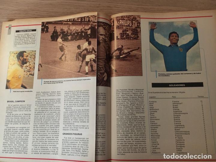 Coleccionismo deportivo: LOS MUNDIALES DEL FÚTBOL. EL FUTBOL PRIMITIVO. SERIE DE 16 FASCICULOS DEL Nº 1 AL 16 ENCUADERNADO - Foto 6 - 146377038