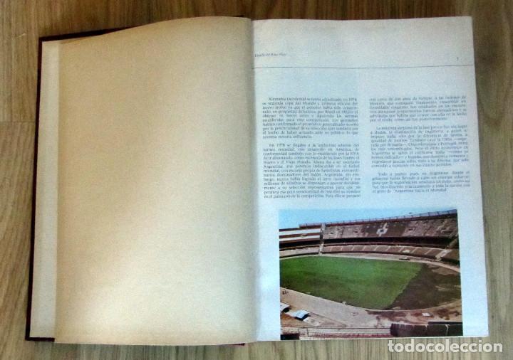 Coleccionismo deportivo: LIBRO DE FUTBOL LOS MUNDIALES 1930 - 1982. - Editorial 4,S.A. FIFA WORD CUP FOOTBALL BOOK - Foto 2 - 146727634