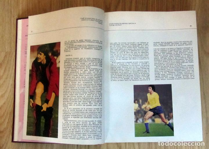 Coleccionismo deportivo: LIBRO DE FUTBOL LOS MUNDIALES 1930 - 1982. - Editorial 4,S.A. FIFA WORD CUP FOOTBALL BOOK - Foto 3 - 146727634