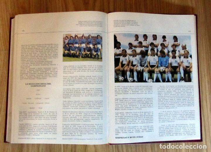 Coleccionismo deportivo: LIBRO DE FUTBOL LOS MUNDIALES 1930 - 1982. - Editorial 4,S.A. FIFA WORD CUP FOOTBALL BOOK - Foto 4 - 146727634