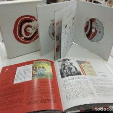 Coleccionismo deportivo: ATHLETIC BIHOTZEZ KEPA JUNKERA FUNDACION ATHLETIC CLUB BILBAO EN ESTUCHE CON CD Y DVD FUTBOL. Lote 147063402