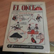 Coleccionismo deportivo: EL ONCE Nº 565 7 NOVIEMBRE 1955 (COIM18). Lote 147087762