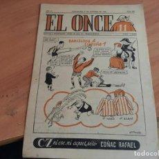 Coleccionismo deportivo: EL ONCE Nº 560 3 OCTUBRE 1955 (COIM18). Lote 147095490
