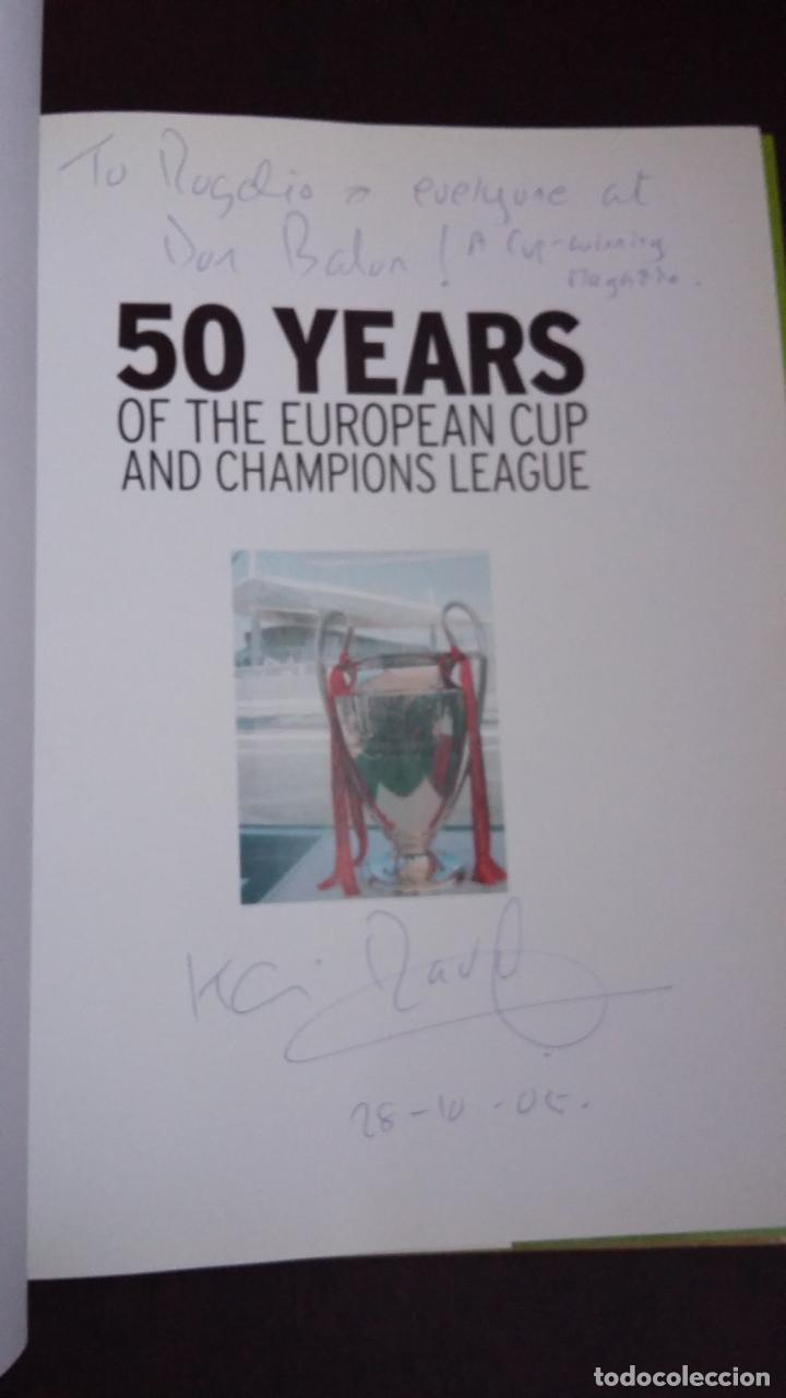 Coleccionismo deportivo: 50 YEARS OF THE EUROPEAN CUP AND CHAMPIONS LEAGUE - CARLTON BOOKS 2005 - Foto 4 - 147538470