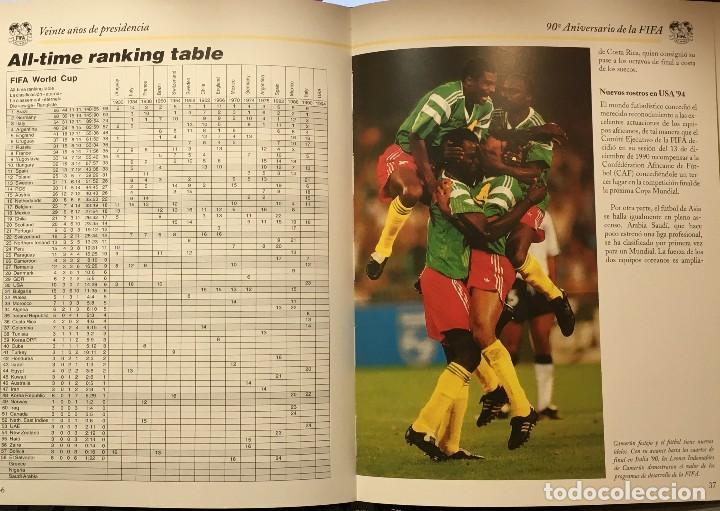 Coleccionismo deportivo: LIBRO 90 ANIVERSARIO DE LA FIFA - FOOTBALL ASSOCIATION - FEDERACIONES DE FUTBOL - Foto 2 - 147762786