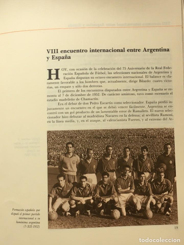 Sammelleidenschaft Sport: PROGRAMA OFICIAL PARTIDO FUTBOL ESPAÑA-ARGENTINA 1988 - 75 ANIVERSARIO FEDERACION ESPAÑOLA - Foto 3 - 147763586