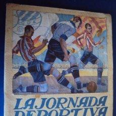 Coleccionismo deportivo: (F-190168)ATHLETIC CLUB BILBAO - EUROPA LA JORNADA DEPORTIVA - Nº EXTRAORDINARIO CAMPEONATO 1923. Lote 147890178
