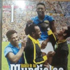Coleccionismo deportivo: HISTORIA DE LOS MUNDIALES DE FUTBOL - AS 1 TOMO. Lote 147960274