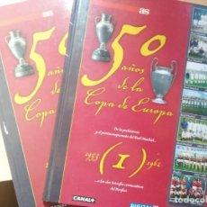 Coleccionismo deportivo: AS LIBRO ESPECIAL 50 AÑOS DE LA COPA DE EUROPA.VOL 1 Y 8. Lote 147960386