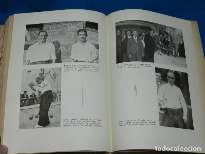 Coleccionismo deportivo: (M2.6) FERMIN SANCHEZ GONZALEZ - ARCHIVO DEPORTIVO DE SANTANDER , 2 TOMOS COMPLETO , SANTANDER 1948 - Foto 3 - 147998734
