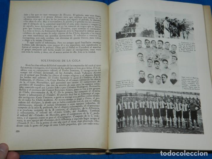 Coleccionismo deportivo: (M2.6) FERMIN SANCHEZ GONZALEZ - ARCHIVO DEPORTIVO DE SANTANDER , 2 TOMOS COMPLETO , SANTANDER 1948 - Foto 4 - 147998734