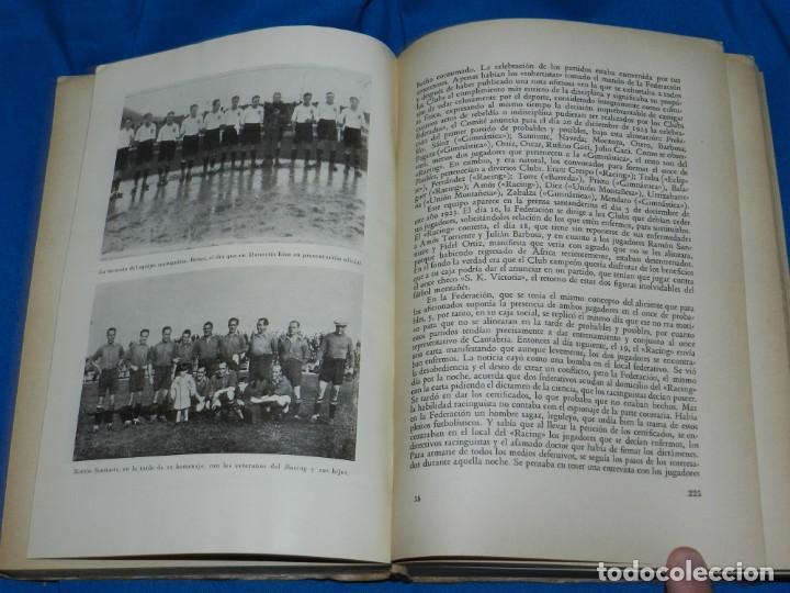 Coleccionismo deportivo: (M2.6) FERMIN SANCHEZ GONZALEZ - ARCHIVO DEPORTIVO DE SANTANDER , 2 TOMOS COMPLETO , SANTANDER 1948 - Foto 5 - 147998734