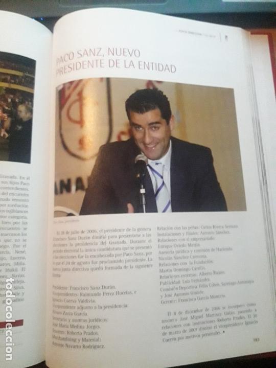 Coleccionismo deportivo: ENCICLOPEDIA DEL GRANADA CF - Foto 9 - 147743118