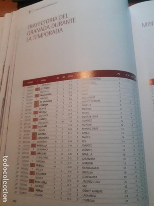 Coleccionismo deportivo: ENCICLOPEDIA DEL GRANADA CF - Foto 20 - 147743118