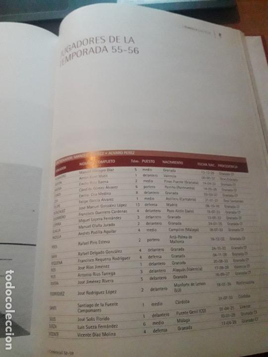 Coleccionismo deportivo: ENCICLOPEDIA DEL GRANADA CF - Foto 21 - 147743118