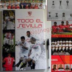 Coleccionismo deportivo: TODO EL SEVILLA CADA DETALLE DE UN GRAN EQUIPO LIBRO SFC SEVILLISMO FC FÚTBOL DEPORTE FOTOS ETC CLUB. Lote 148769134