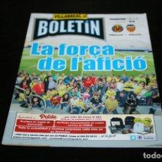 Coleccionismo deportivo: PROGRAMA FÚTBOL VILLARREAL - VALENCIA TEMPORADA 18-19. Lote 148967658