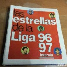 Coleccionismo deportivo: LAS ESTRELLAS DE LA LIGA 96/97 INTERVIU . Lote 149520186
