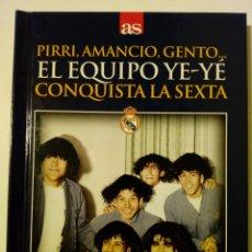Coleccionismo deportivo - DVD + Libro: EL EQUIPO YE-YE CONQUISTA LA SEXTA (11-5-1966) Real Madrid 2 - 1 Partizan - Diario AS - - 157193561
