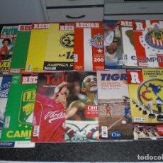 Coleccionismo deportivo: LOTE 4 LIBROS + 10 REVISTAS ESPECIALES (MÉXICO) VER RELACIÓN.. Lote 150063362