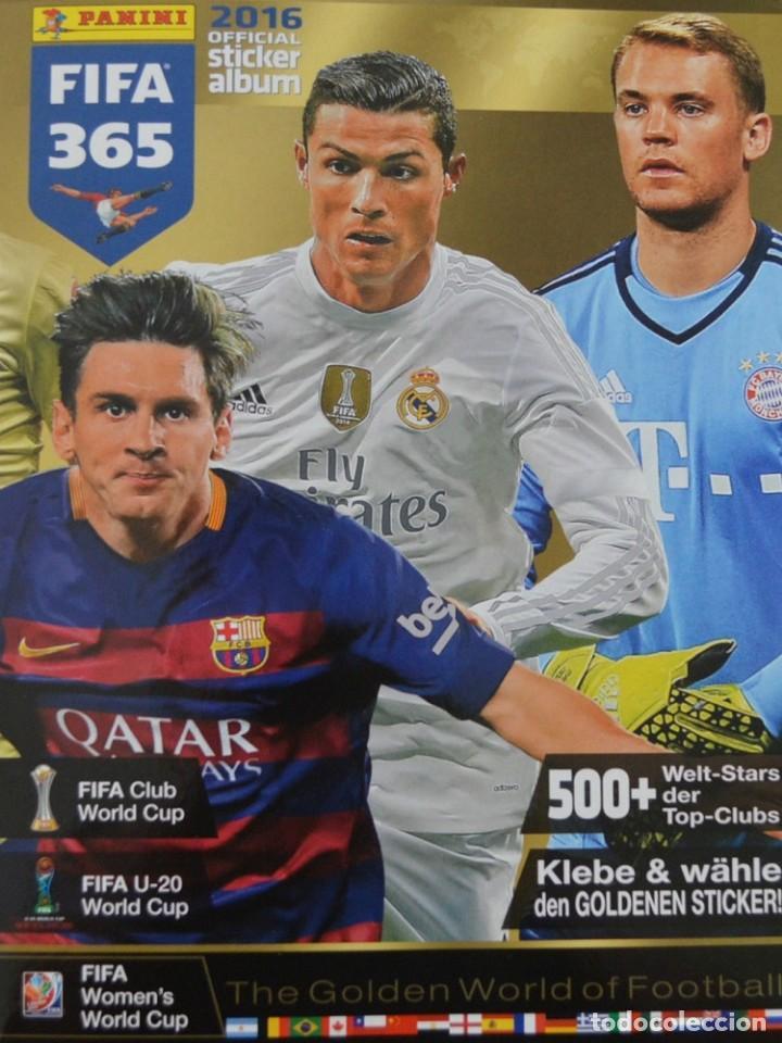 ALBUM PANINI. - FIFA 365 2016.# (Coleccionismo Deportivo - Libros de Fútbol)