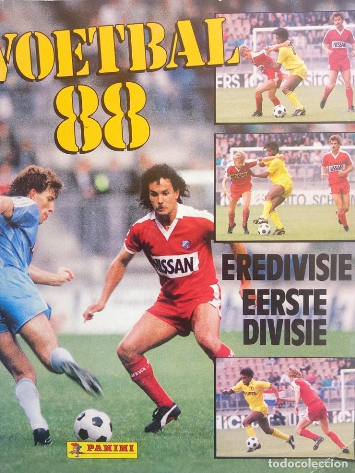 ALBUM PANINI. - VOETBAL 88.# (Coleccionismo Deportivo - Libros de Fútbol)