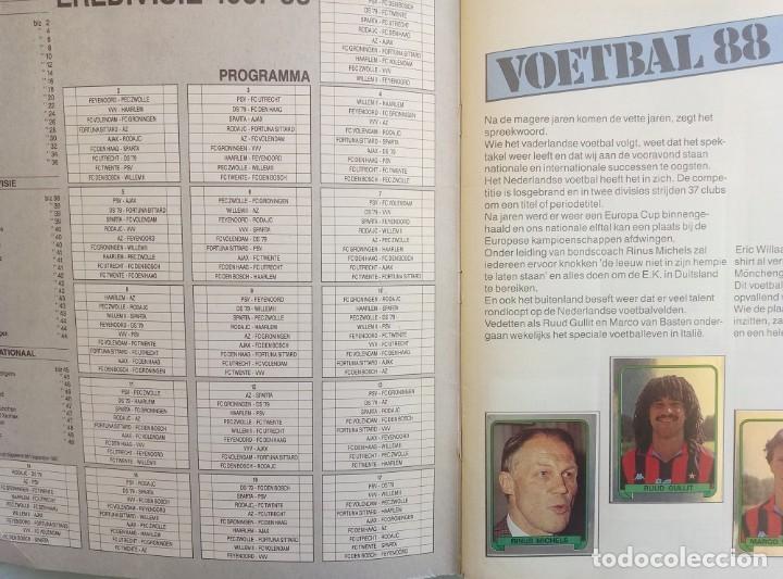 Coleccionismo deportivo: ALBUM PANINI. - VOETBAL 88.# - Foto 4 - 150275542