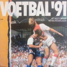 Coleccionismo deportivo: ALBUM PANINI. - VOETBAL 91.#. Lote 150276862