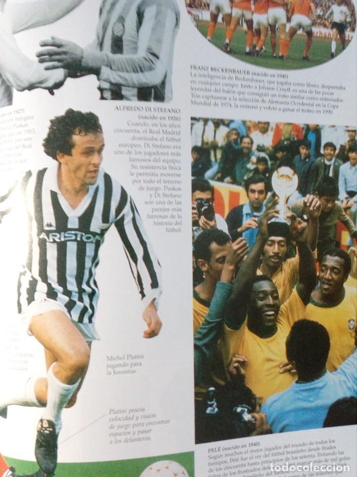 Coleccionismo deportivo: OJO FÚTBOL - LIBROS PARA APRENDER MIRANDO - EDITORIAL SM (AÑO 2001) INCLUYE CD Y POSTER - Foto 7 - 150356222