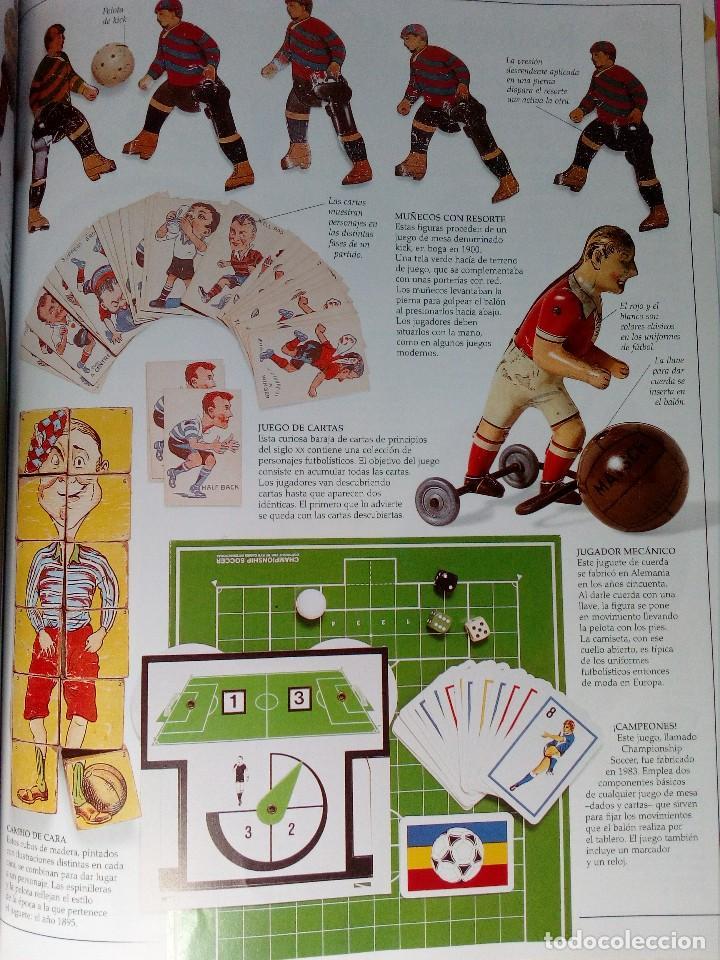 Coleccionismo deportivo: OJO FÚTBOL - LIBROS PARA APRENDER MIRANDO - EDITORIAL SM (AÑO 2001) INCLUYE CD Y POSTER - Foto 8 - 150356222