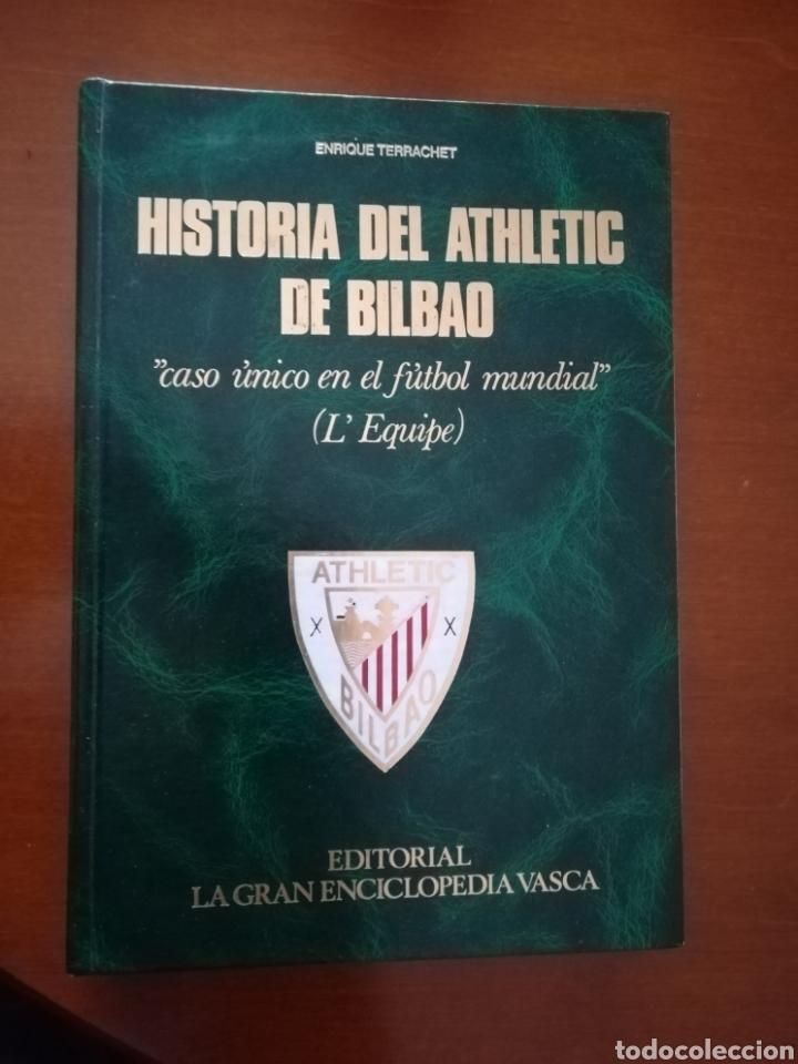 HISTORIA DEL ATHLETIC CLUB DE BILBAO (1984). (Coleccionismo Deportivo - Libros de Fútbol)