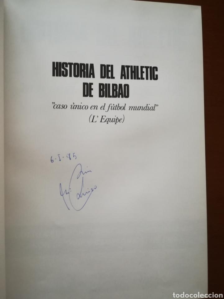 Coleccionismo deportivo: HISTORIA DEL ATHLETIC CLUB DE BILBAO (1984). - Foto 3 - 150373021