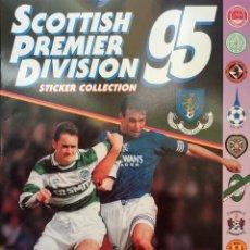 Coleccionismo deportivo: ALBUM PANINI. - SCOTTISH PREMIER DIVISION 95. #. Lote 150839930