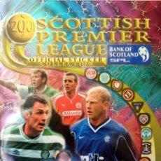 Coleccionismo deportivo: ALBUM PANINI. - SCOTTISH PREMIER LEAGUE 2001. - (COL. COMPLETA) #. Lote 150840122