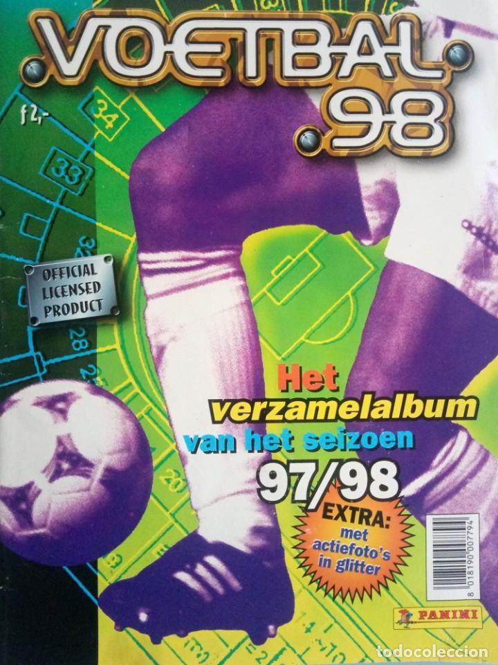 ALBUM PANINI. - VOETBAL 98 - (COL. COMPLETA) # (Coleccionismo Deportivo - Libros de Fútbol)