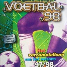 Coleccionismo deportivo: ALBUM PANINI. - VOETBAL 98 - (COL. COMPLETA) #. Lote 150842198