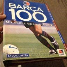 Coleccionismo deportivo: FC BARCELONA. CENTENARIO FICHAS LA VANGUARDIA COMPLETO. Lote 150977814