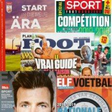 Coleccionismo deportivo: LEAGUE GUIDES 2018-2019 (LOT-N1). Lote 151205242