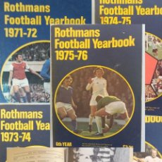 Coleccionismo deportivo: ROTHMANS YEARBOOKS 1971 TO 1976 (LOT-N5). Lote 151304518