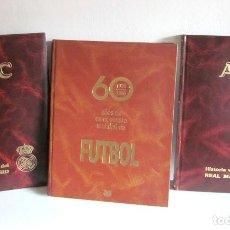Coleccionismo deportivo: LOTE 60 AÑOS DE CAMPEONATOS MUNDIALES FÚTBOL 1930-1990 E HISTORIA VIVA REAL MADRID 2 TOMOS ABC . Lote 151373654