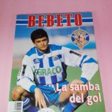 Coleccionismo deportivo: LIBRO-BEBETO-ESTRELLAS DE PRIMERA-LA SAMBA DEL GOL-BENGALA-1995-VER FOTOS. Lote 151492898