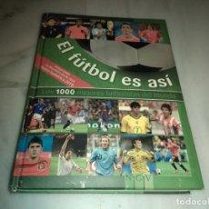 Coleccionismo deportivo: EL FÚTBOL ES ASI LOS 1000 MEJORES JUGADORES DEL MUNDO. Lote 151647790