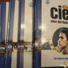 Coleccionismo deportivo: CIEN AÑOS DEL REAL MADRID,COLECCION AS, NUM.2 AL 8, CARTON 31X23, 2001. Lote 151928390