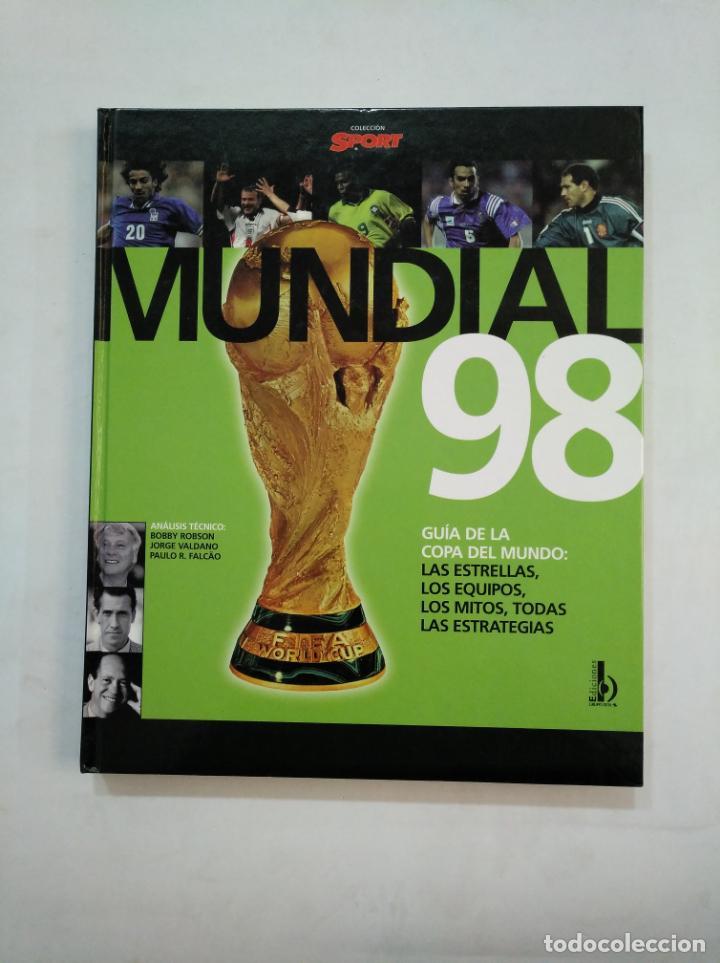 ATLAS DEL MUNDIAL 98. GUÍA DE LA COPA DEL MUNDO DE FRANCIA 1998. COLECCION DIARIO SPORT. TDKLT (Coleccionismo Deportivo - Libros de Fútbol)