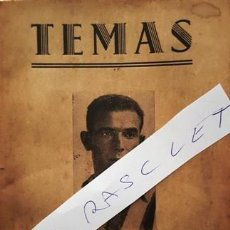 Coleccionismo deportivo: ANTIGUO LIBRO - TEMAS - MANUEL LOPEZ LLAMOSAS - MANOLO TRAVIESO - JAEN - 3 -1 - 1958 -. Lote 152598622