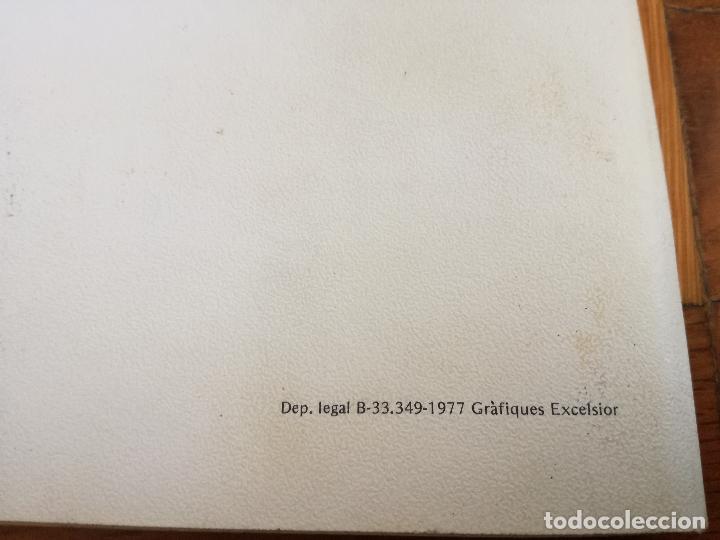 Coleccionismo deportivo: LIBRO DEL FUTBOL CLUB BARCELONA 1977 ELS DARRERS VUIT ANYS HERMEROTECA EDICIO ESPECIAL COMPROMISARIS - Foto 9 - 152831626