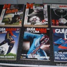 Coleccionismo deportivo: LOTE DE 6 GUIAS MARCA (VER TEMPORADAS). Lote 152860406