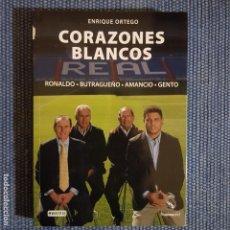 Coleccionismo deportivo: CORAZONES BLANCOS. RONALDO, BUTRAGUEÑO, AMANCIO, GENTO * REAL MADRID. Lote 152965622