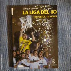 Coleccionismo deportivo: CORAZONES BLANCOS. RONALDO, BUTRAGUEÑO, AMANCIO, GENTO * REAL MADRIDLA LIGA DEL 110, 100 PUNTOS, 121. Lote 152965794