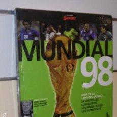Coleccionismo deportivo - MUNDIAL 98 FRANCIA - COLECCION SPORT - EDICIONES B OCASION - 153064298